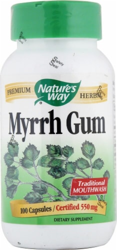 Nature's Way  Myrrh Gum Perspective: front