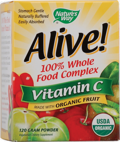 Nature's Way Alive! Vitamin C Powder Perspective: front