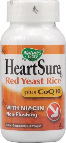 Nature's Way  HeartSure® Red Yeast Rice plus CoQ10 Perspective: front