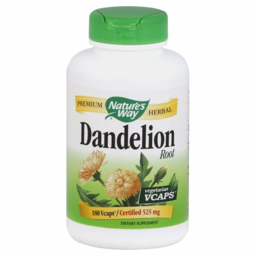 Nature's Way Dandelion Root Vcaps 525mg Perspective: front