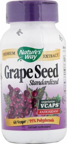 Nature's Way  Grape Seed Standardized Perspective: front