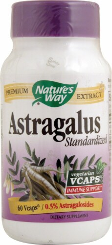 Nature's Way  Astragalus Standardized Perspective: front