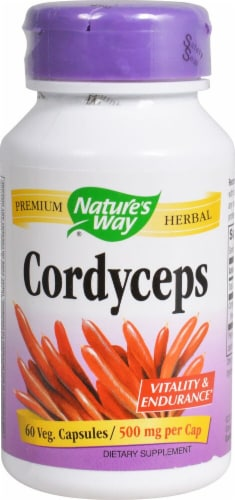 Nature's Way  Cordyceps Perspective: front