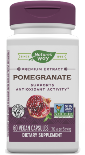 Nature's Way Pomegranate Capsules Perspective: front