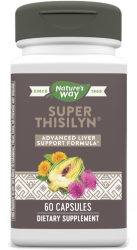 Nature's Way Super Thisilyn Advanced Detox Vcaps Perspective: front