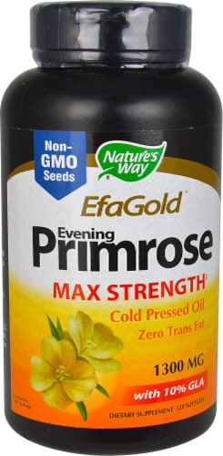 Nature's Way  EFAGold® Evening Primrose Perspective: front