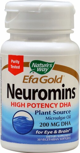 Nature's Way EfaGold® Neuromins® High Potency DHA 200 mg Perspective: front