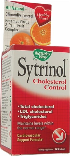 Nature's Way Sytrinol Cholesterol Control Perspective: front
