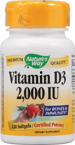 Nature's Way  Vitamin D3 Perspective: front