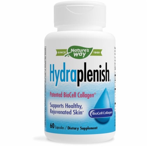 Nature's Way Hydraplenish Hyaluronic Acid Vcaps Perspective: front