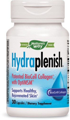 Nature's Way Hydraplenish Hyaluronic Acid Capsules Perspective: front