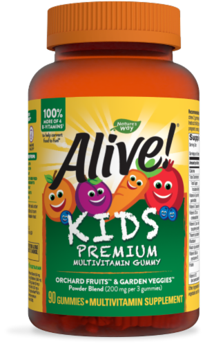 Nature's Way Alive! Gummies for Children Perspective: front