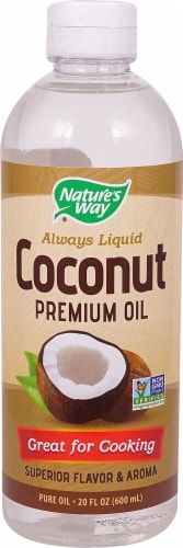 Nature's Way  Liquid Coconut Premium Oil Perspective: front
