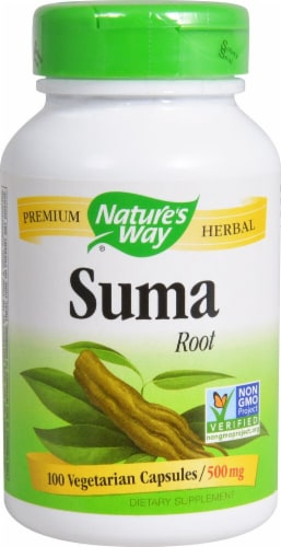 Nature's Way  Suma Root Perspective: front