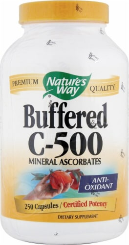 Nature's Way  Buffered C-500 Capsules Perspective: front