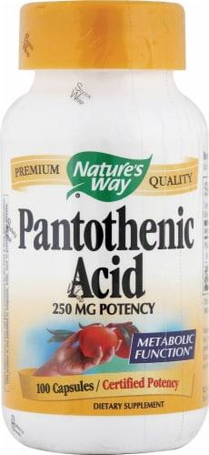 Nature's Way  Pantothenic Acid Perspective: front