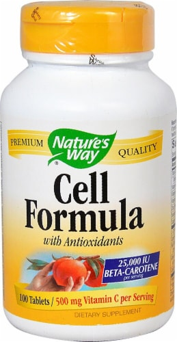 Nature's Way Cell Formula with Antioxidants Perspective: front