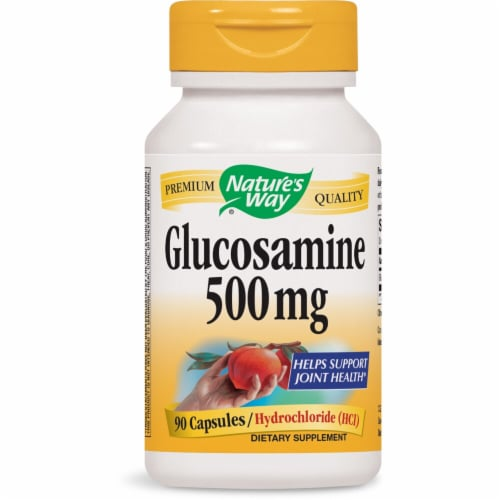 Nature's Way  Glucosamine Perspective: front