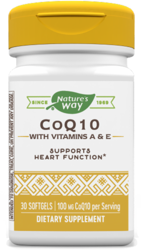 Nature's Way Coq10 100 Mg Softgels Perspective: front