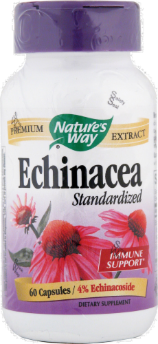 Nature's Way Standardized EE Capsules Perspective: front