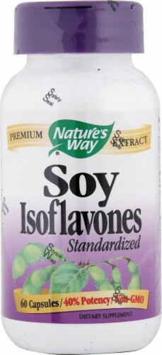 Nature's Way  Soy Isoflavones Standardized Perspective: front