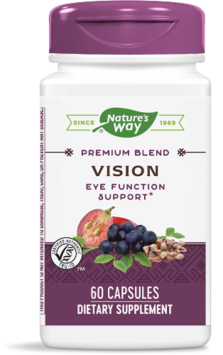 Nature's Way Vision Capsules Perspective: front