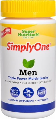 Super Nutrition  Simply One Men Perspective: front