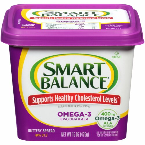 Smart Balance Omega-3 Buttery Spread Perspective: front