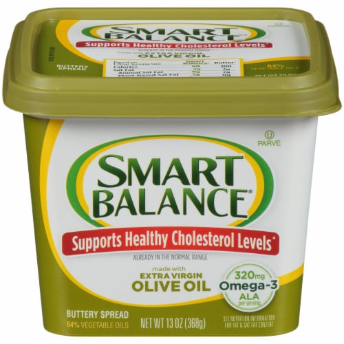 Smart Balance Extra Virgin Olive Oil Buttery Spread Perspective: front