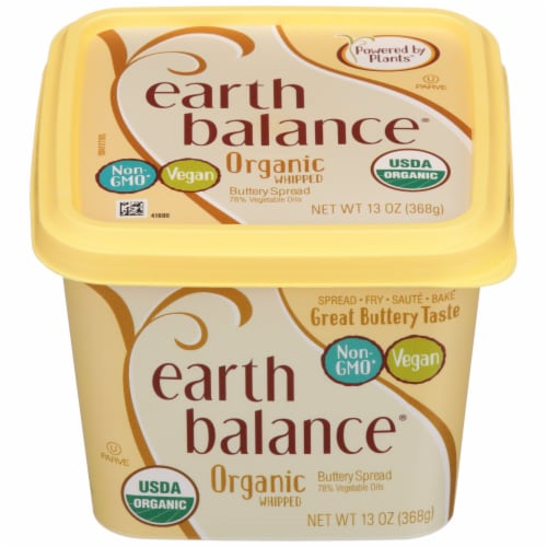 Earth Balance Organic Whipped Buttery Spread Perspective: front