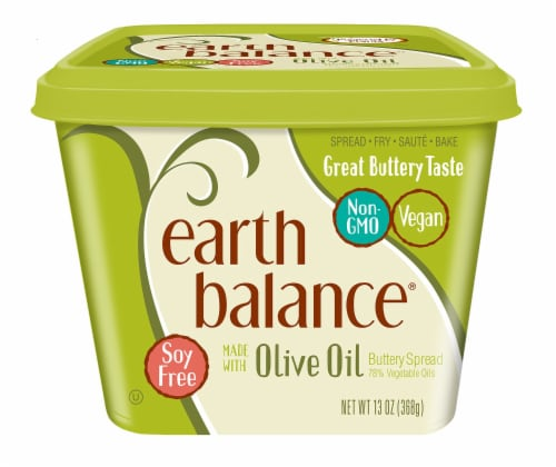 Earth Balance Soy Free Olive Oil Buttery Spread Perspective: front