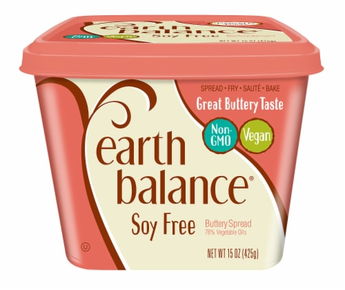 Earth Balance® Soy Free Buttery Spread Perspective: front