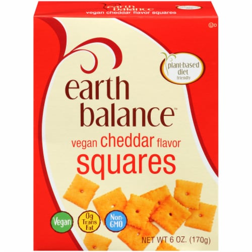 Earth Balance Cheddar Squares Whole Foods