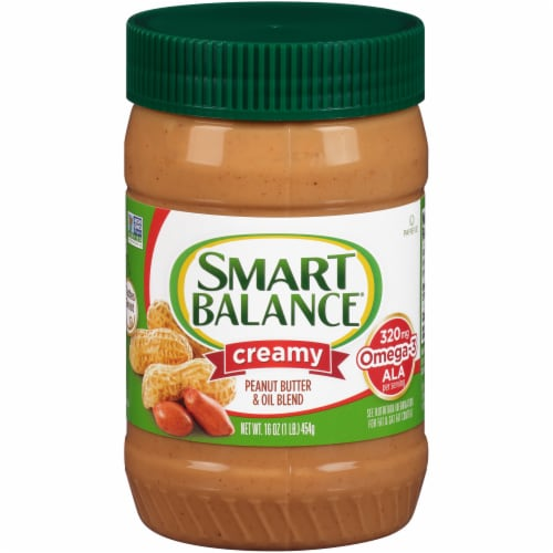 Smart Balance All Natural Rich Roast Creamy Peanut Butter Perspective: front