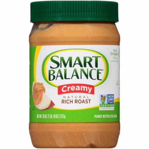 Smart Balance Creamy Peanut Butter Perspective: front