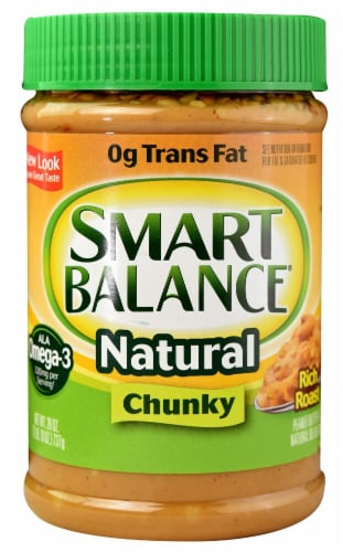 Smart Balance Natural Chunky Peanut Butter Perspective: front