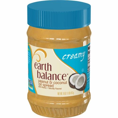 Earth Balance Creamy Coconut & Peanut Spread Perspective: front