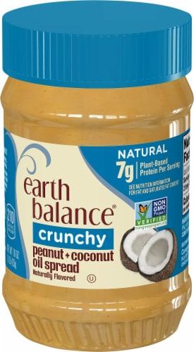 Earth Balance Crunchy Coconut & Peanut Spread Perspective: front