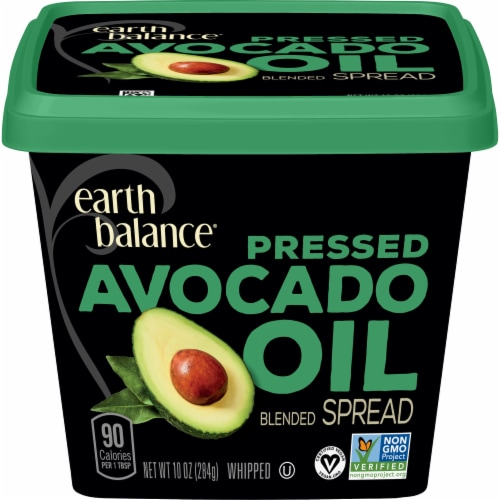 Earth Balnace Pressed Avocado Oil Blended Spread Perspective: front