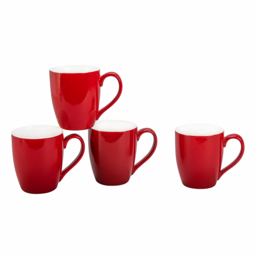 BIA Cordon Bleu Mug Set - Spice Red Perspective: front