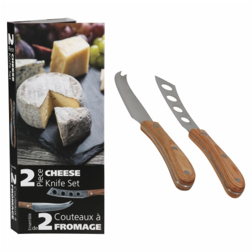 BIA Cordon Bleu Danesco Cheese Knife Set Perspective: front