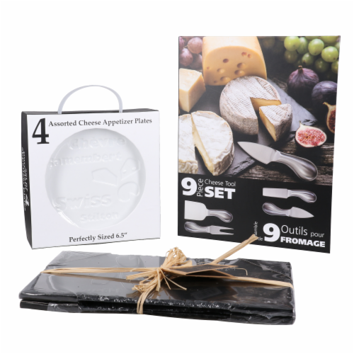 BIA Cordon Bleu Danesco Essential Cheese and Charcuterie Set Perspective: front