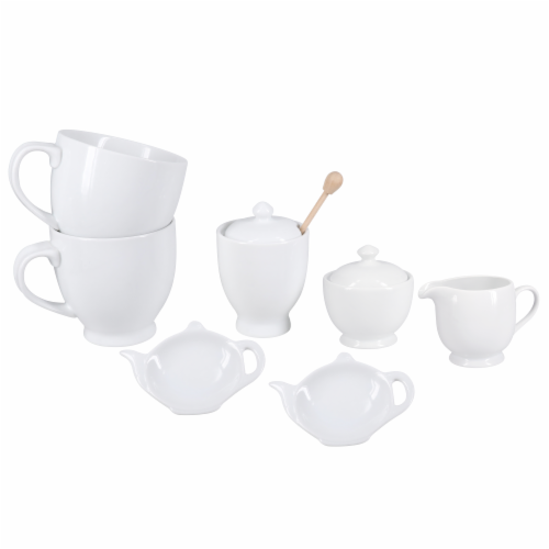 BIA Cordon Bleu Porcelain Tea for Two Set Perspective: front