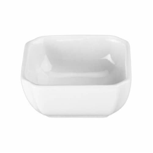 Dash of That™ Mini Square Bowl - White Perspective: front