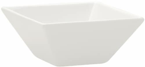 Dash of That™ Square Flare Bowl - White Perspective: front