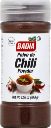Badia Chili Powder Perspective: front