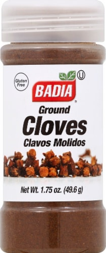 Badia Ground Cloves Perspective: front