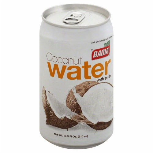 Badia Coconut Water With Pulp Perspective: front