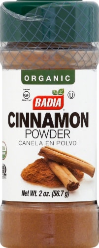 Badia Organic Cinnamon Powder Perspective: front