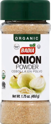Badia Organic Onion Powder Perspective: front